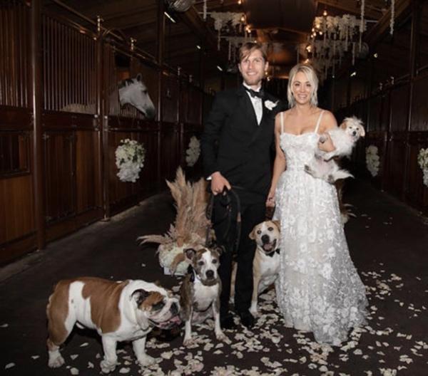 ケイリー・クオコ 結婚式
