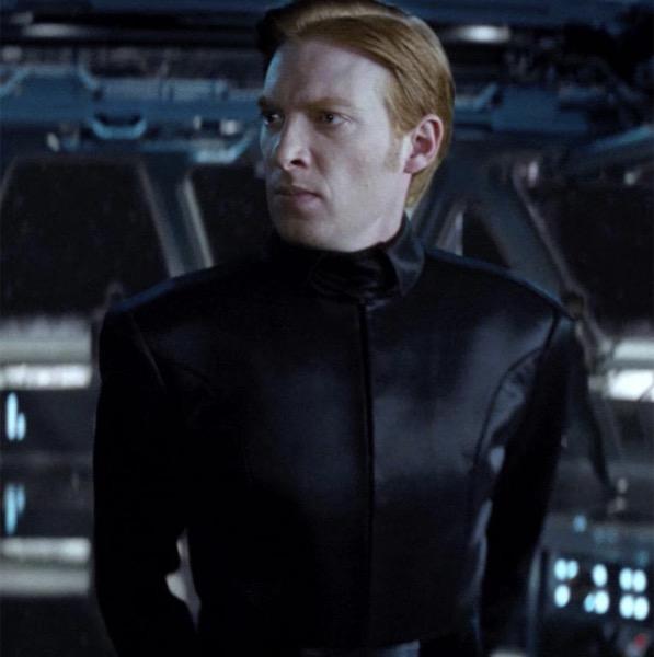 ハックス将軍役 ドーナル・グリーソン